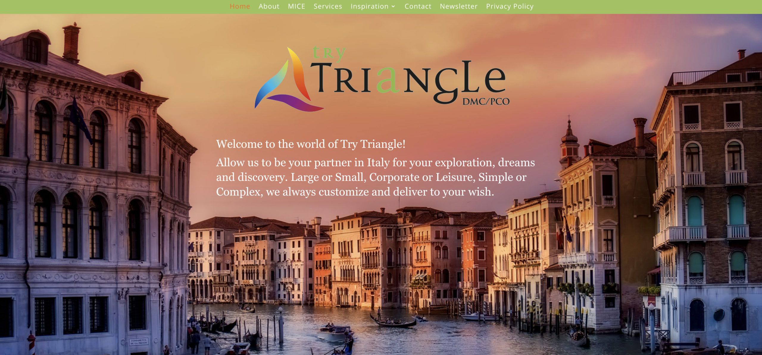 Try Triangle DMC